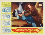 A Bucket of Blood Lobby Card 07 - Dick Miller