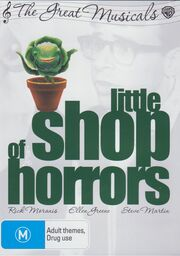 Little Shop of Horrors (1986) Australia DVD