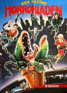 Little Shop of Horrors (1986) German Home Video Poster