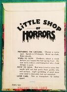 Little Shop of Horrors (1986) promotional coleus seeds 02