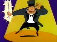 Little Shop of Horrors Cartoon - Paine Driller sings Veggie Free