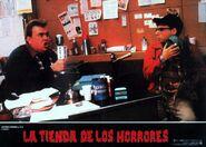 Little Shop of Horrors Spanish Lobby Card 09 John Candy & Rick Moranis