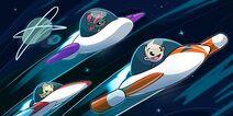 Little Space Heroes Blast and Adventure