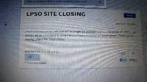 REAL REASON WHY LPSO CLOSED DOWN
