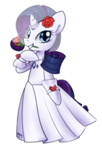 Rarity wedding dress by soapie solar-d4q6wk7