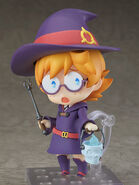 Lotte Nendoroid surprised with lantern