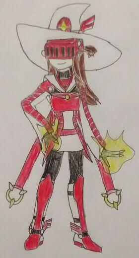LWA Ragnarok Colored Vermilion Valkyrie