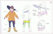 Akko With Borrowed Jacket Episode 16 Concept Design LWA