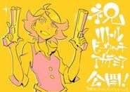 Amanda O'Neill illustrated by animator Shigeto Koyama (コヤマ シゲト) @Joey Jones