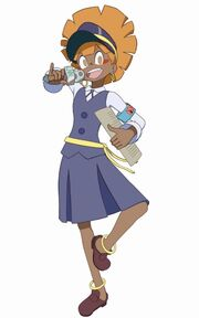 Wangari model in Little Witch Academia Chamber of Time