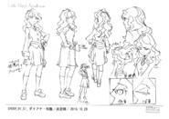 Diana Anime Concept Design 1 LWA