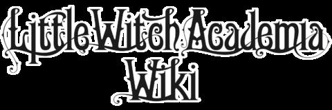 Little Witch Academia Wiki title dark