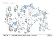 Lotte Anime Debut Outfit LWA