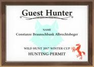 Guest Hunter-Constanze Braunschbank Albrechtsbeger
