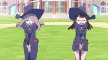 Akko and Sucy about to fly LWA 02