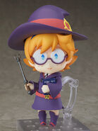 Lotte Nendoroid with wand and nightfallbook