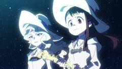 Akko and Diana in Tree of Leaves