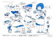 Green Team Anime Concept Design 2 LWA