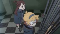 Akko and Lotte with chained Shooting Star LWA 03