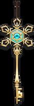 Sixth key