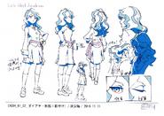 Diana Anime Concept Design 2 LWA