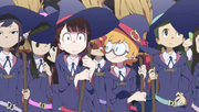 Akko and Lotte in flight class Movie1