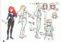 Ursula Combat Suit Concept Design LWA