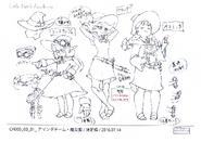Green Team Anime Concept Design 1 LWA
