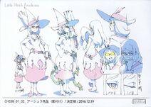 Ursula Anime Concept Design 1 LWA