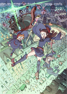 Little Witch Academia Enchanted Parade notext