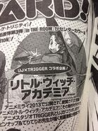 Little Witch Academia Manga 2 announcement