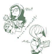 Joanna and Kimberly Keisuke Sato