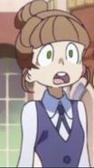 Bice being shocked LWA