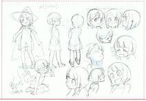 Kid Akko Anime Concept Art LWA