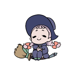 Arte SD de Jasminka del sitio oficial del anime.