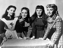 1949 Sisters Standing