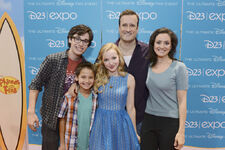 Full Liv and Maddie Cast at D23