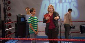 Jennifer needs a mic check from Parker