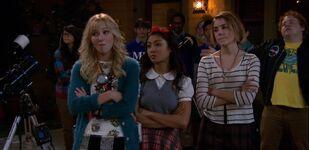 Aubrey, Alex and Samantha are mad