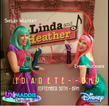 liv and maddie slumber party a rooney cast
