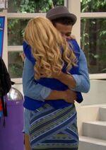 Liv and Holden Hug