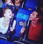 Dove and Ryan on Ride
