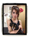 Laura with Pixie