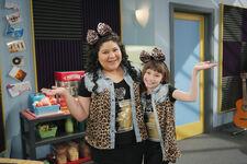 Lauren Lindsey Donzis with Raini Rodriguez