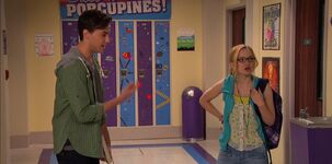 Diggie and Maddie's awkward silence