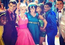 Dove with the Hairspray Live Cast
