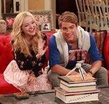 Liv and Josh smiling