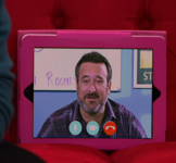 Pete on Tablet