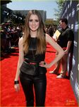 Laura at the Young Hollywood awards
