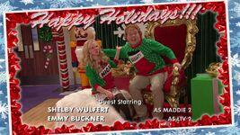 Liv and Artie Christmas Photos Joy To-A-Rooney 2